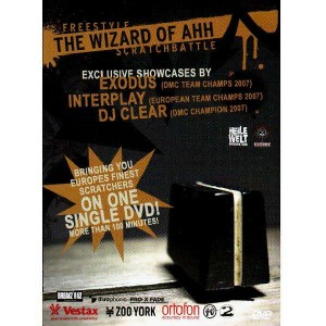 The Wizard Of Ahh - Freestyle Scratchbattle - DVD