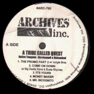 A Tribe Called Quest - Native Tongues - Unreleased & Unleashed - 12''