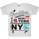 Ambiguous T-shirt - Brooklyn - White