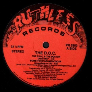 The D.O.C. - The D.O.C. & the doctor - 12''