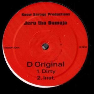 Jeru Tha Damaja - D Original - 12''