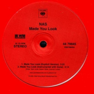 Nas - Made you look / The cross - 12''