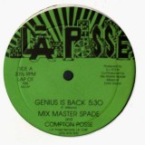 Mix Master Spade & Compton Posse - Genius is back - 12''