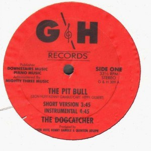 The Dogcatcher - The pit bull - 12''