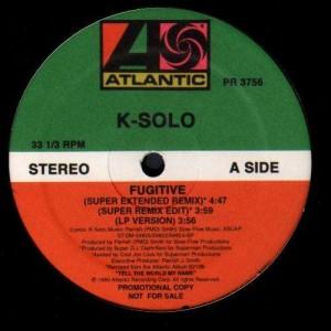 K-Solo - Fugitive - promo 12''