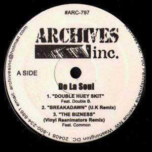 De La Soul - Archives Inc bootleg - Vinyl EP