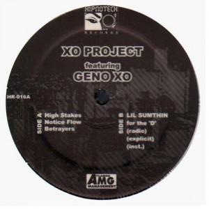 Geno Xo - Xo project EP - Vinyl EP