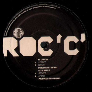 Roc'C' - El Capitan / Let's battle / Fuck you - 12''