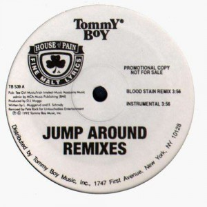 House of Pain - Jump Around remixes - promo 12'