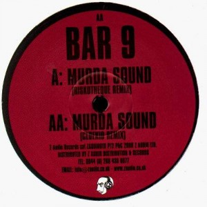 Bar 9 - Murda sound (Riskotheque / Cluekid remixes) - Z Audio 10 part 2 - 12''