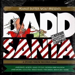Peanut Butter Wolf presents... Badd Santa - Various Artists - 2LP