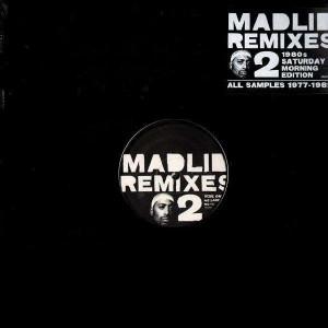 Madlib - Remixes 2 - 1980s saturday morning edition - All samples 1977-1982 - 2LP