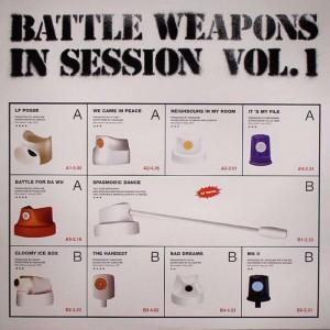 La Fondation - Battle Weapons In Session vol.1 - CD