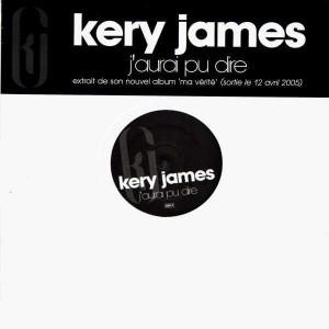 Kery James - J'aurai pu dire - 12''