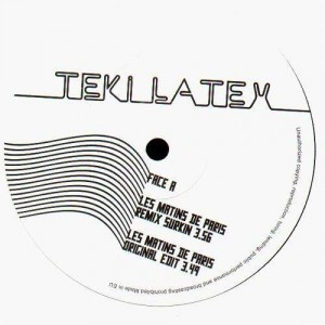 Teki Latex - Les matins de Paris + remixes by Surkin & Paul Flangerio - 12''