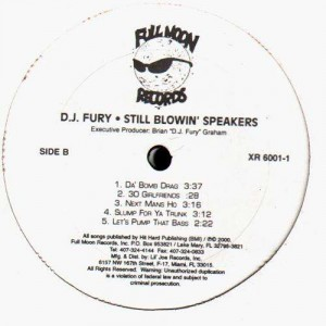 DJ Fury - Still blowin' speakers - 2LP