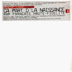 Premiere Classe volume 1 - Ça part d'la naissance / Rap français haute fidélité - 12''