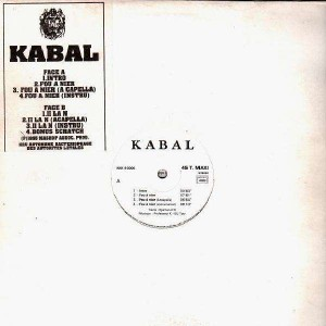 Kabal - Fou à nier / II la N - 12''