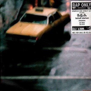 DJ LBR - Rap only - Sampler for street dj's - Vinyl EP