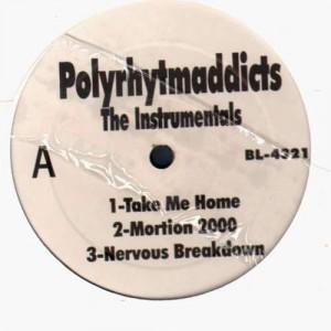 Polyrhytmaddicts - The instrumentals - Vinyl EP