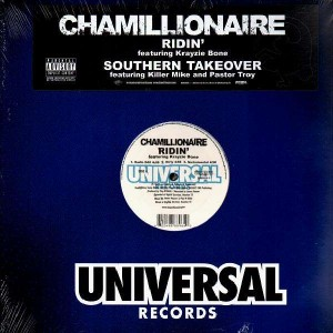 Chamillionaire - Ridin' (feat. Krazie Bone) / Southern takeover - 12''