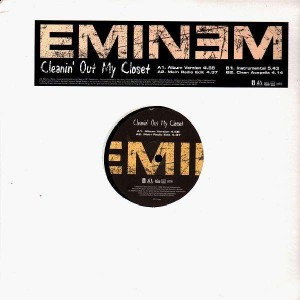 Eminem - Cleanin' out my closet - 12''