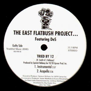 The East Flatbush Project - Tried by 12 (feat. DeS) - 12''