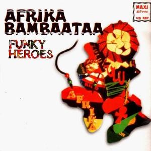 Afrika Bambaataa - Funky Heroes - 12''
