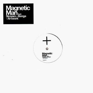 Magnetic Man feat. Skream + Benga + Artwork - The cyberman - 12''