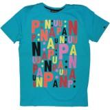 PA:NUU T-shirt - Dario - Blue