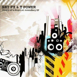 Shy FX & T Power - Diary of a digital soundboy EP -  2LP