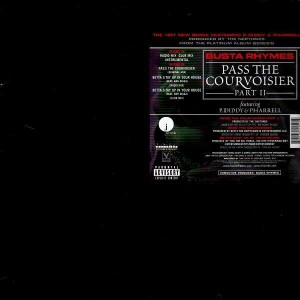 Busta Rhymes - Pass the courvoisier part II / Betta stay up in your house - 12''