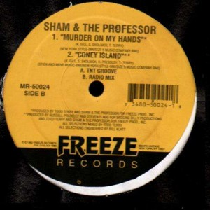Sham & The Professor - Coney Island / Murder on my hands - 12''