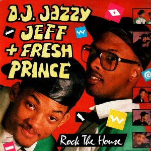 DJ Jazzy Jeff and The Fresh Prince - Rock the house - UK LP