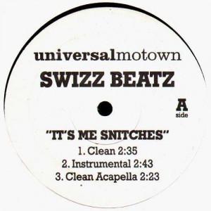 Swizz Beatz - It's me snitches / It's me bitches - 12''