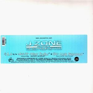 J-Zone - Q&A / County Check Pimpin' / Fan Club President - 12''