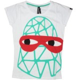 PA:NUU Lady T-shirt - Dorit Tee - White