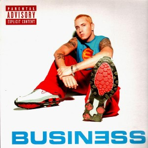 Eminem - Business / The conspiracy / Bump heads - 12''