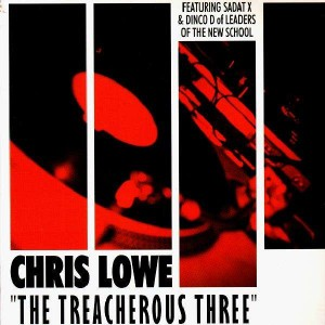 Chris Lowe - The Treacherous Three / Round & Round - 12''