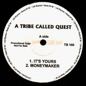 A Tribe Called Quest - It's yours / Moneymaker / The consequences - 12''