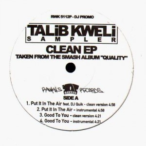 Talib Kweli - Clean EP - Vinyl EP