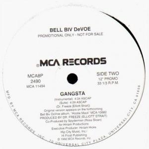 Bell Biv Devoe - Gangsta - promo 12''