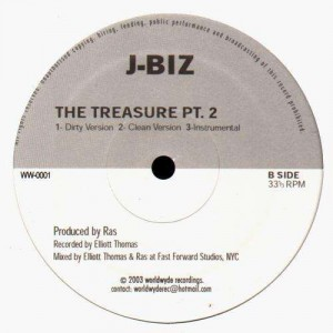 J-Biz - The treasure pt.2 / Ninetyfive - 12''