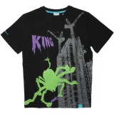 KING APPAREL T-Shirt - Monster Mash - Black