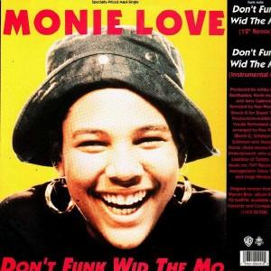 Monie Love - Down 2 earth / Don't funk wid the Mo - 12''