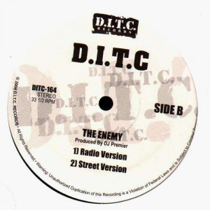 D.I.T.C. - Internationally Known / The enemy - 12''