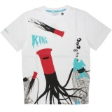 KING APPAREL T-Shirt - Monster Mash - White