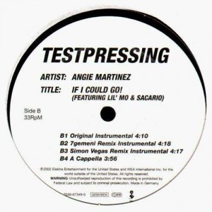 Angie Martinez - If i could go!  Remixes - 12