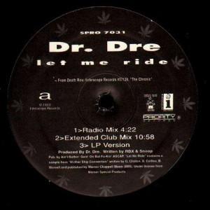 Dr.Dre - Let me ride - 12''