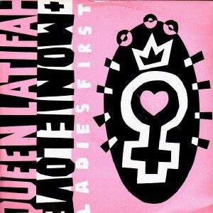 Queen Latifah & Monie Love - Ladies first - 12''